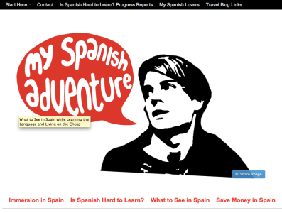 My spanish Adventure Blog