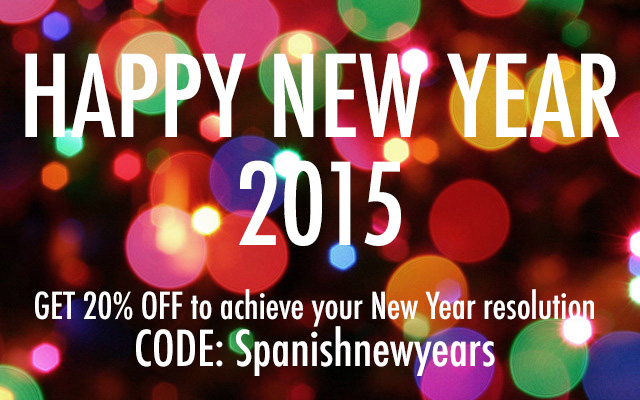 Learn Spanish new year resolution